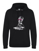 DJ Baby Groot Unisex Hoodie - Headphones Music Guardians Party Mixing Decks